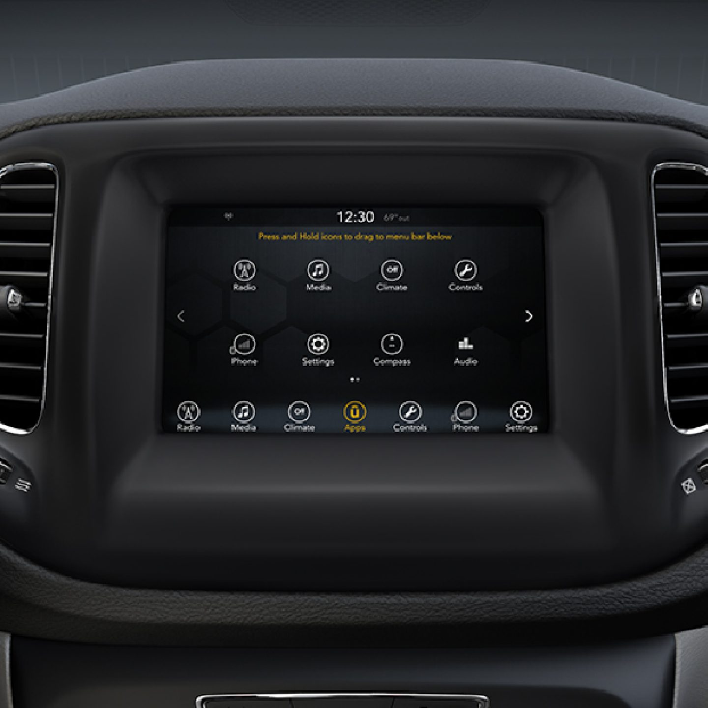 7-Inch Uconnect® Touchscreen