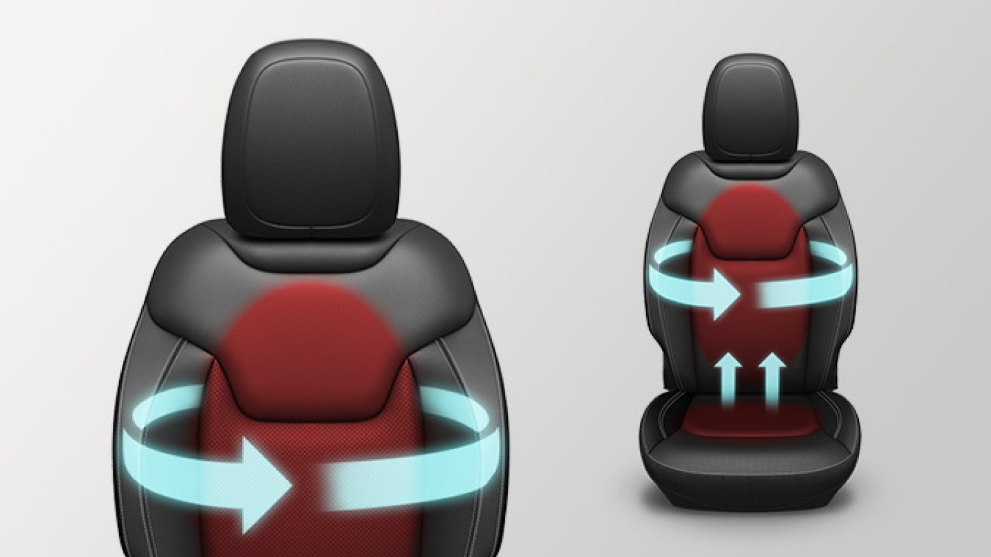 Heated Leather-Trimmed Front Seats